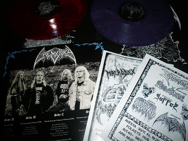 crematory LP back necroharmonic double Lp