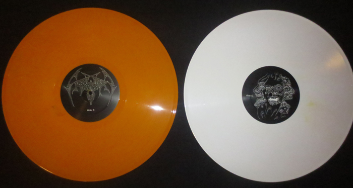 crematory orange and white for Necroharmonic records Lp