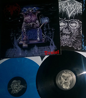 Crematory - Black / Blue presssing Lmited to 166 copies hand numbered