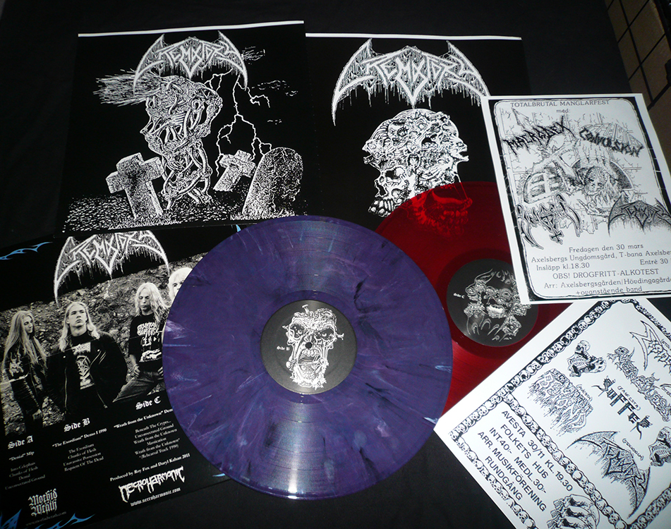 Crematory collection double LP Swedish down tuned death