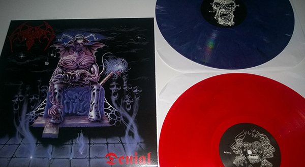 crematory sweden purple and red press vinyl necroharmonic 2 LP 600